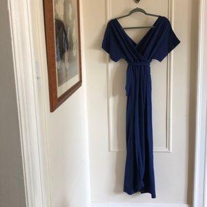 Gap Royal blue maxi dress